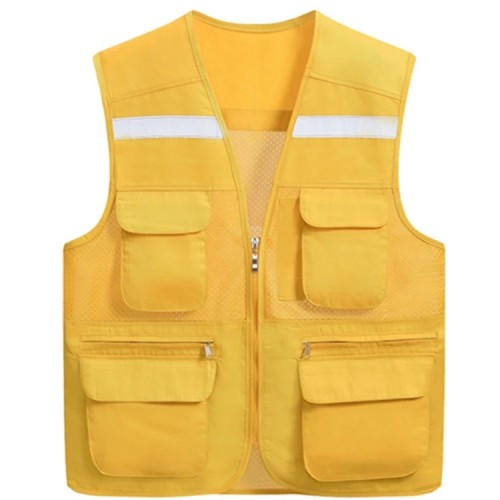 Reflective Safety Vests With Pockets | Waterproof Safety Vests High Quality | Custom Safety Vests With Logo Affordable