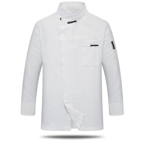 New Chef Coats Unisex   Long Sleeve Chef Coats Jackets Cake   Cotton Washable Chef Coats Costume