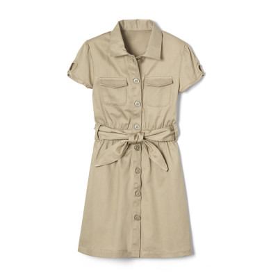 School Uniforms For Girls | Short Sleeve School Uniforms Dresses | Cotton School Uniforms Wholesale
