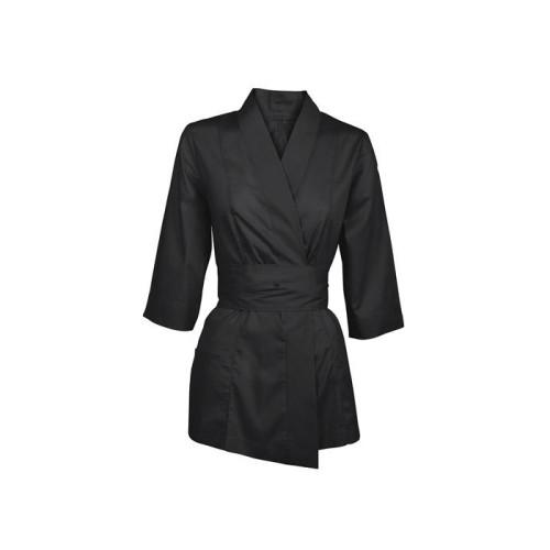 Women's Spa Uniforms Tops   Cotton 3/4 Sleeve Spa Uniforms Tunic   Fancy Spa And Salon Uniforms