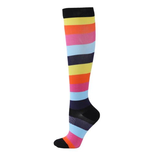 压力袜医用男女皆宜|最适合跑步、护理、远足、恢复和飞行袜 |质量压缩袜批发