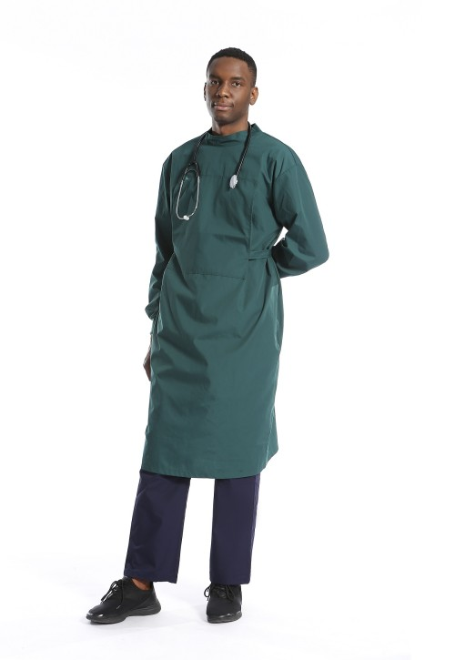 Surgical Gowns For Doctors | Fluid Resistant Waterproof Surgical Gown Long Elastic Sleeve | Unisex Surgical Gowns Custom