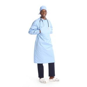 Surgical Gowns Reusable   Fluid Resistant Surgical Gowns Long Sleeve Unisex   Custom Surgical Gowns Quality