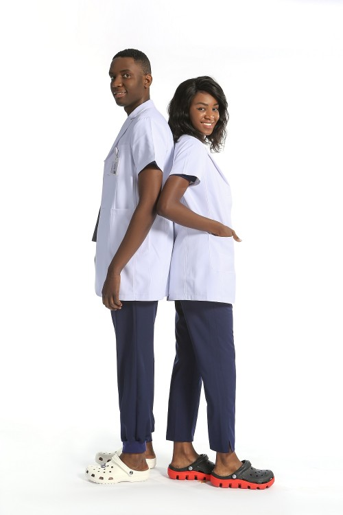 Unisex Lab Coats Outfits For Doctors | Short Sleeve Lab Coats Short Length | Custom Logo Lab Coats Affordable