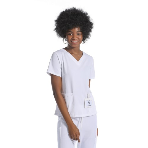 Medical Uniforms Scrubs | Scrub Uniforms Wholesale | Customized Patch Pocket Nurse Scrub Top With Pants Set | Scrub Uniforms For Nurses