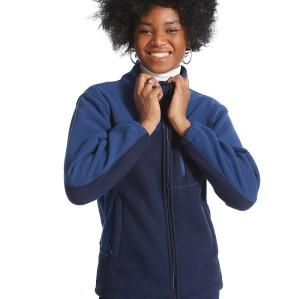 Scrub Jackets For Women | Navy Blue Zip-up Scrub Jackets | Slim Jogger Pants | Custom Medical Uniforms With Logo Wholesale