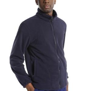 Fleece Scrub Jackets For Men | Full Zip Fleece Scrub Jackets Navy | Custom Scrub Top Jacket In High Quality
