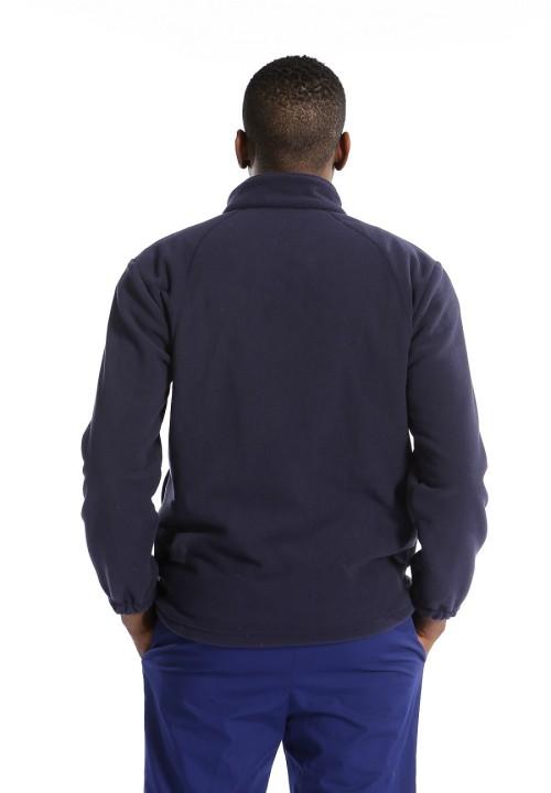 男士抓绒磨砂夹克 |全拉链抓绒磨砂夹克 海军蓝 |高品质定制磨砂上衣
