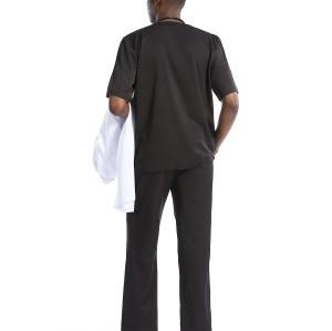 Quality Medical Uniforms For Men | V-neck Short Sleeve Stretch Scrubs Uniforms Sets | Wholesale Cheap Scrub Uniforms