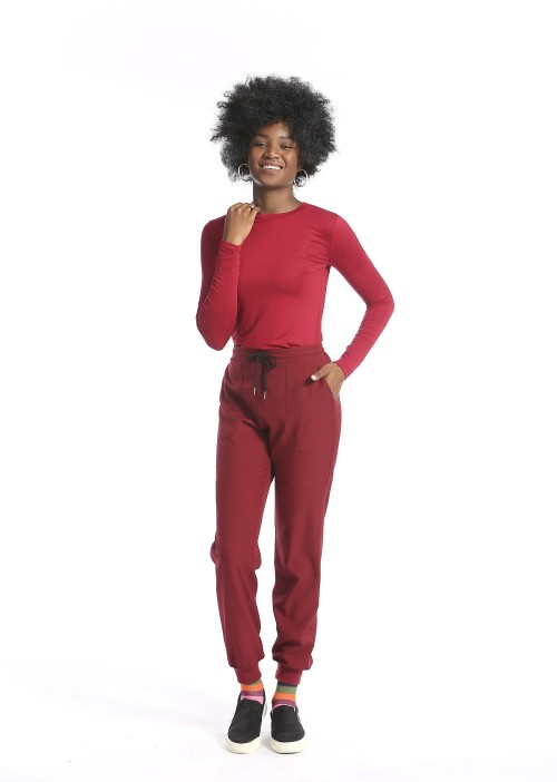 Women's Scrub Nurse Uniforms | Slim Fit Short Sleeve Scrub Tops&Jogger Pants Quality | Medical Scrub Uniforms Manufacturer