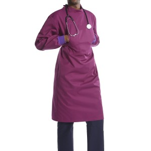 可重复使用的手术衣 |医生用长袖和弹性袖口手术衣|批发防水手术衣