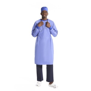 Surgical Gowns Washable   Reusable Elastic Neck&Cuff Surgical Gowns For Doctors   Surgical Gowns Wholesale