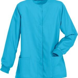 Scrub Jackets For Women | Stretch 2-Pocket Warm-Up Button Scrub Jackets Hospital | Custom Scrub Jackets With Logo