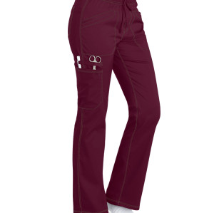 Women's Scrub Pants Cargo | 4-Pocket Stretch Drawstring Scrub Pants Cotton | Wholesale Medical Scrub Pants