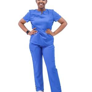 Women's Medical Uniforms Wholesale | Short Sleeve 4 Way Stretch Scrub Uniforms For Nurses | Custom Medical Scrubs