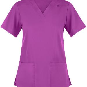 Quality Scrub Tops For Women | Women's 3-Pocket V-Neck 4 Way Stretch Scrub Tops | Wholesale Scrub Tops Ladies