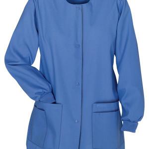 Women's Scrub Jackets On Sale | 4-Pocket Front Snap Closure Warm-Up Scrub Jackets | Bulk Scrub Warm Up Jackets Wholesale