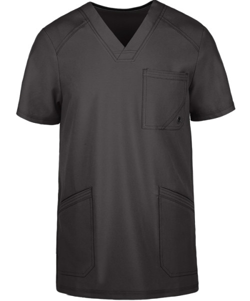 Quality Scrub Tops For Men | Short Sleeve V-neck 3-Pocket Scrub Tops Breathable | Wholesale Men's Scrub Tops Online