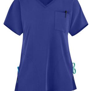 Quality Scrub Tops For Women | 3-Pocket V-Neck Scrub Tops Stretch Fashion | Wholesale Scrub Tops With Logo Affordable