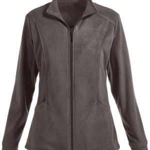 Scrub Jackets Hospital For Women | 2-Pocket Zip Front Fleece Warm Up Scrub Jackets | Scrub Jackets With Logo Quality
