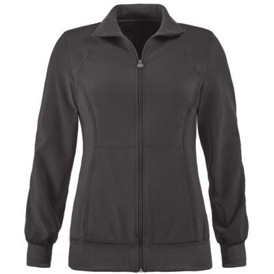 Women's Scrub Jackets With Logo Custom | 2-Pocket Warm-Up Zip Up Scrub Jackets For Doctors | Scrub Warm Up Jackets Wholesale