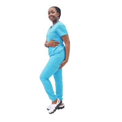 女士磨砂套装带口袋| SHOPBOP短袖 4 向弹力磨砂套装制服和慢跑裤 |优质磨砂套装批发