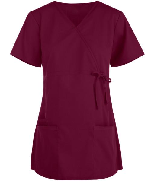 Scrub Tops Maternity   3-Pocket Quality Scrub Tops Cotton   Wholesale Scrub Tops For Pregnancy