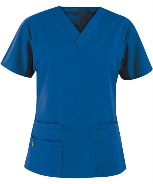 Scrub Tops For Women | 3-Pocket V-Neck Scrub Tops Breathable | Wholesale Quality Scrub Tops Affordable