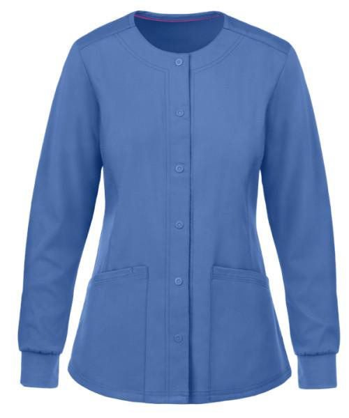 Women's Scrub Jackets Wholesale | 4-Pocket Snap Front Scrub Jackets Quality | Scrub Jackets Stylish Wholesale