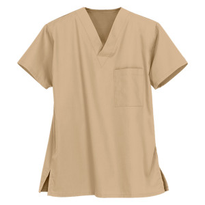Unisex Scrub Tops | 1-Pocket V-Neck 4 Way Stretch Scrub Tops Cotton | Wholesale Scrub Tops Manufacturer