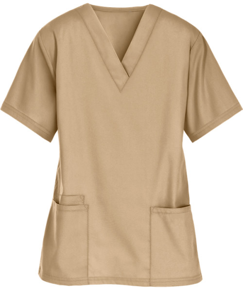 Scrub Tops For Women | Women's 3-Pocket V-Neck Quality Scrub Tops | Wholesale Scrub Tops Supplier