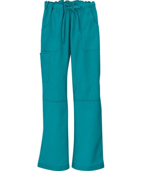 Scrub Pants For Women   6-Pocket Cargo Drawstring Scrub Pants Quality   Wholesale Cargo Scrub Pants Ladies