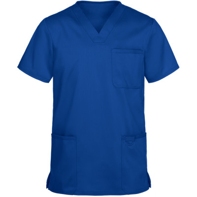 Men's Quality Scrub Tops | 3-Pocket V-Neck Scrub Tops Stretch | Wholesale Scrub Tops With Logo Manufacturer