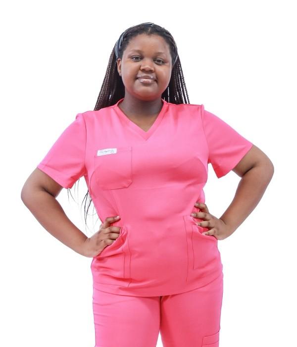 Scrub Sets For Women Stretch | 4 Way Stretch Embroidered Scrub Sets | Wholesale Scrub Sets Affordable