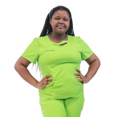 Plus Size Stretch Scrub Uniforms | Women Fashion Short Sleeve Plus Size Scrub Tops Jogger Pants | Scrub Uniform Wholesale Supplier