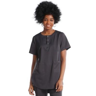Unisex Scrub Sets | Button Half Placket Nurse Scrubs | Cotton Jogger Pants | Customized Medical Uniforms Affordable