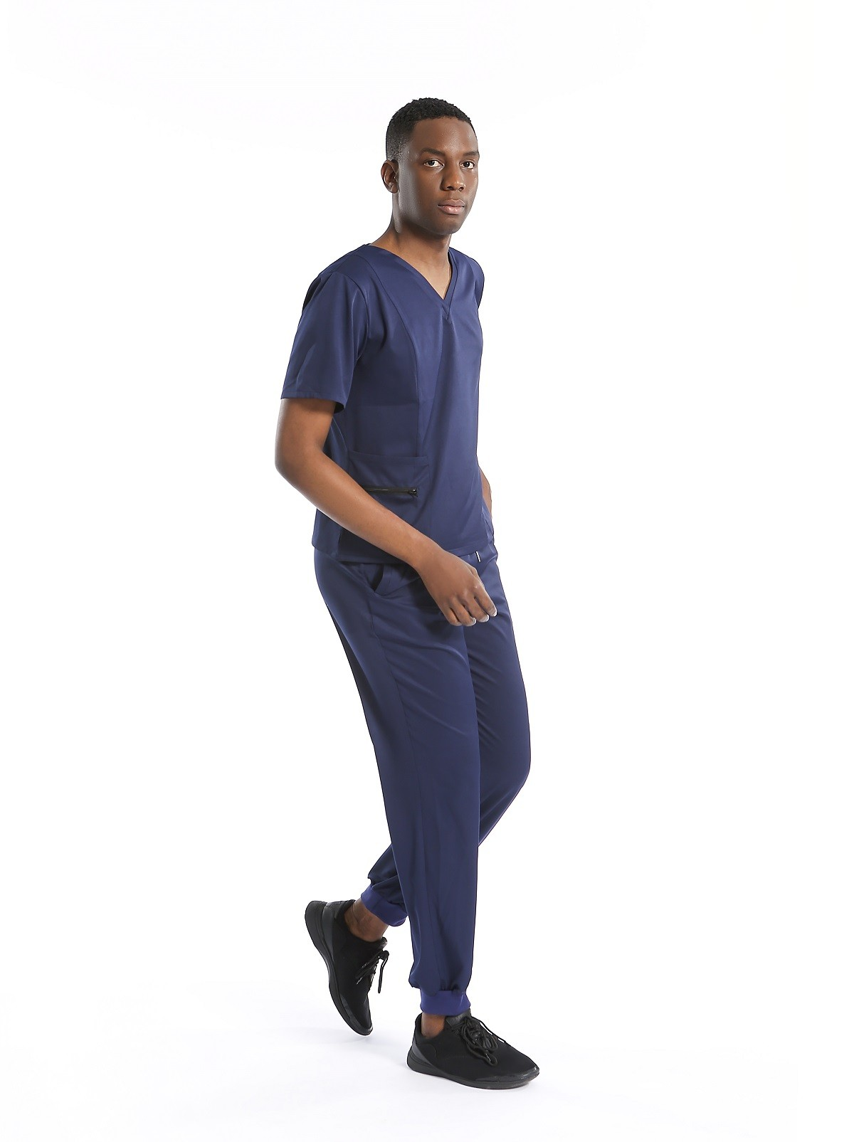 scrub uniforms with pocket