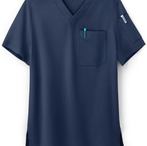 Scrub Tops For Men | 2-Pocket V-Neck Scrub Tops Quality Custom | Wholesale Scrub Tops Manufacturer