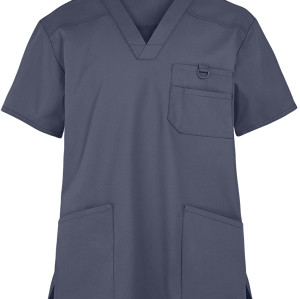Scrub Tops For Men Wholesale | 5-Pocket V-Neck Scrub Tops Quality | Custom Scrub Tops With Logo Affordable