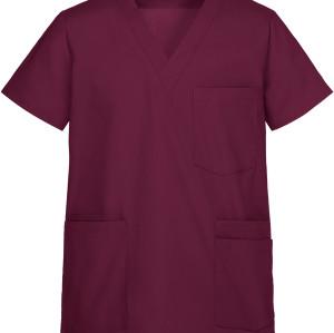 Men's Modern Scrub Tops | 5-Pocket V-Neck 4 Way Stretch Scrub Tops | Wholesale Scrub Tops With Logo Manufacturer