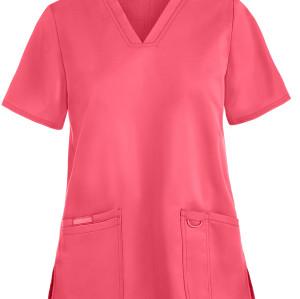 Women's Scrub Tops Stylish | 3-Pocket V-Neck Function Scrub Tops Cotton | Wholesale Scrub Tops Affordable Supplier