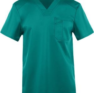 Scrub Tops For Men | 1-Pocket V-Neck Scrub Tops Breathable | Wholesale Scrub Tops With Logo Affordable