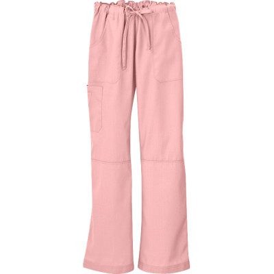 Women's Cargo Scrub Pants | 6-Pocket Drawstring Cargo Drawstring Scrub Pants Cotton | Wholesale Scrub Pants Cargo Affordable