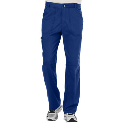 Men's Cargo Scrub Pants | 7-Pocket Cargo Scrub Pants With Button And Zipper | Wholesale Scrub Pants Manufacturer