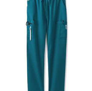 Men's Cargo Scrub Pants | 9-Pocket 4 Way Stretch Cargo Scrub Pants Drawstring | Wholesale Scrub Pants Affordable