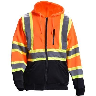 男士工程师施工夹克|专业工程师制服保暖防水|批发安全工程师工作制服
