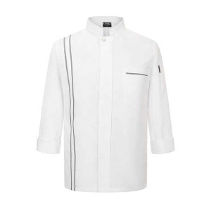 Unisex Uniforms For Catering Staff | 3/4 Sleeve Breathable Catering Uniforms Quality | Wholesale Catering Uniforms Supplier