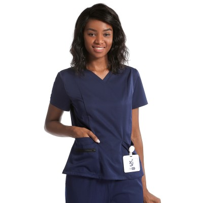 Unisex Scrub Uniforms | Royal Blue Scrub Uniforms Sets | V-neck Short Sleeve Scrub Uniforms Tops | Scrub Type Uniforms Wholesale