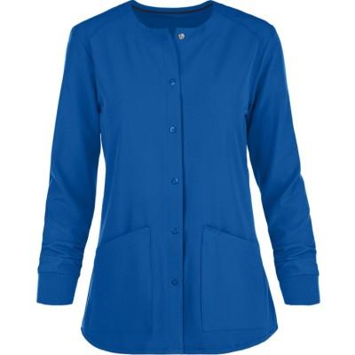 Scrub Jackets For Women | 2-Pocket Warm-Up Scrub Jackets Medical Nursing | Wholesale Scrub Jackets Custom Manufacturer