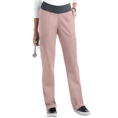 Women's Yoga Scrub Pants | 10-Pocket Straight Leg Yoga Scrub Pants | Wholesale Nursing Scrub Yoga Pants Manufacturer